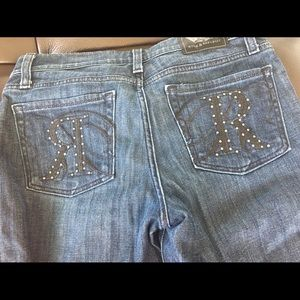 Rock & Republic Size 28 Jeans with studs